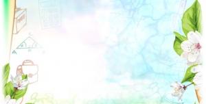 تراکت و پوستر لایه باز مهد کودک و پیش دبستانی و دبستان با طرح لوازم تحریر همراه با تصاویر شاد کودکانه + PSD