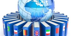 عکس با کیفیت نماد سازمان ها یا اجلاس های جهانی دولت ها یا حکومت ها یا همایش های بین المللی با نماد کره زمین و پرچم کشورها