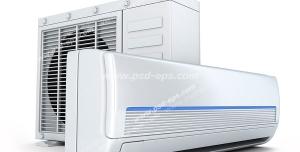 عکس با کیفیت سیستم خنک کننده اسپلیت یونیت یا کولر گازی