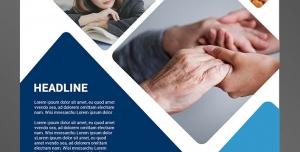 تراکت یا پوستر لایه باز تبلیغاتی کلاس های گروهی و روانشناسی و مهارت های زندگی برای جوانان ، میانسالان و زوج های جوان