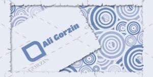 کارت ویزیت لایه باز خاص