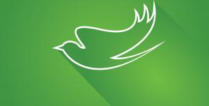 لوگو پرنده