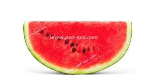 عکس با کیفیت برشی از یک هندوانه قرمز و رسیده ویژه تبلیغات شب یلدا