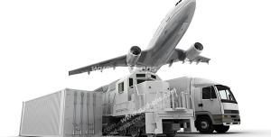 عکس با کیفیت کامیون ، قطار مخصوص حمل بار ، هواپیما و کانتینر مخصوص حمل بار و کالا