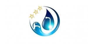 لوگو یا آرم آماده فروشگاه شیرآلات و دستگاه های تصفیه آب و تاسیسات با کیفیت بالا