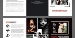 طرح آماده لایه باز بروشور سه لت ویژه شرکت های تجاری بازرگانی عکاسی طراحی عکس چاپ عکس روی شاسی