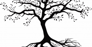 وکتور طرح درخت با قابلیت تغییر سایز به هر اندازه ای