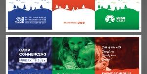 طرح آماده لایه باز بروشور سه لت ویژه شرکت های تجاری بازرگانی کودک پروری مهدهای کودک