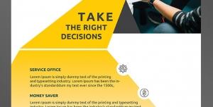 طرح آماده لایه باز پوستر یا تراکت با موضوع ارتباطات مشاوره کسب و کار تجاری بازرگانی