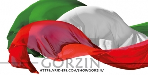 10 عدد وکتور پرچم ایران