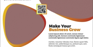 طرح آماده لایه باز پوستر یا تراکت با موضوع پیشرفت در کسب و کار و مشاوره کسب و کار تجاری بازرگانی خصوصی