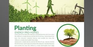 طرح آماده لایه باز پوستر یا تراکت با موضوع رشد و نمو ایده پردازی انرژی خورشیدی نور الکتریکی بادبان های بادی نولید انرژی الکتریکی