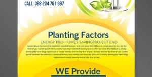 طرح آماده لایه باز پوستر یا تراکت با موضوع انرژی خورشیدی رشد و پرورش تولید انرژی الکتریکی و الکتریسیته