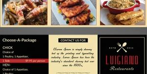 طرح آماده لایه باز بروشور سه لت ویژه فست فود رستوران اغذیه کترینگ چلوکبابی کبابی