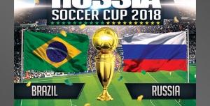 طرح آماده لایه باز پوستر یا تراکت لیگ برتر مسابقات فوتبال جام جهانی جام ملت های آسیا ویژه ورزشگاه فوتبال