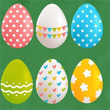 تخم مرغ های رنگی PNG