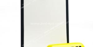 عکس با کیفیت نمادین تاکسی تلفنی با تصویر لیست سفید در کنار علامت زرد کابین خودرو تاکسی