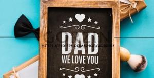 طرح تبلیغی لایه باز تبریک روز پدر