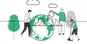 طرح پوستر لایه باز روز درختکاری، زمین پاک، محیط زیست