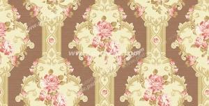 عکس با کیفیت تبلیغاتی شکوفه های ریز صورتی در زمینه کرم و قهوه ای