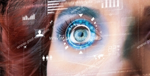 عکس با کیفیت تبلیغاتی متخصص چشم