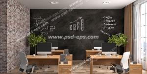 عکس با کیفیت تبلیغات مدارس هوشمند با طراحی داخلی زیبا