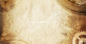 عکس با کیفیت تبلیغاتی چرخ دنده های بزرگ و کوچک تشکیل دهنده یک کادر طلایی