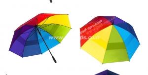 عکس با کیفیت تبلیغاتی چتر های رنگارنگ در حالت های مختلف