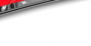 عکس با کیفیت تبلیغاتی پرچم ترکیه با کادر فلزی ستاره دار