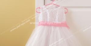 عکس با کیفیت تبلیغاتی پیراهن عروس دخترانه