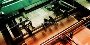 عکس با کیفیت تبلیغاتی دستگاه چاپ کاغذ افست با سرعت بالا چهار رنگ