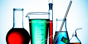 عکس با کیفیت تبلیغاتی تجهیزات و ظروف آزمایشگاهی