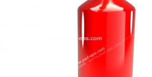 عکس با کیفیت تبلیغات کپسول آتش نشانی