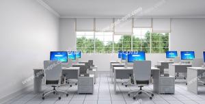 عکس با کیفیت تبلیغات آموزشگاه های کامپیوتر با فضای دلنشین