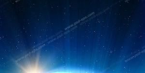 عکس با کیفیت تبلیغاتی کره زمین و درخشش نور
