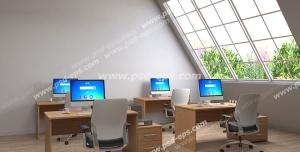 عکس با کیفیت تبلیغات کلاس هوشمند با فضای کاملا مجهز