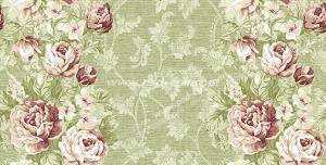 عکس با کیفیت تبلیغاتی گل های رز در بک گراند سبز