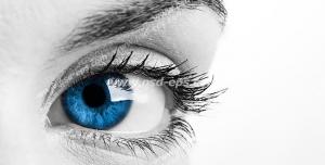 عکس با کیفیت تبلیغاتی چشم و ابروی زیبا