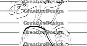 وکتور طراحی یک خطی