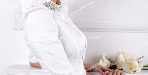 عکس با کیفیت تبلیغاتی عروس زیبا با موهای بلوند