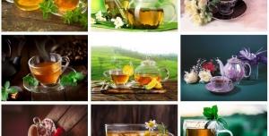 24 عدد تصویر با کیفیت از چای و قهوه