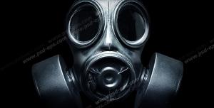 عکس با کیفیت تبلیغاتی ماسک ضد شیمیایی