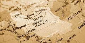 عکس با کیفیت تبلیغاتی نقشه ایران و کشور های همسایه