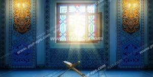 عکس با کیفیت تبلیغاتی مسجد با شکوه