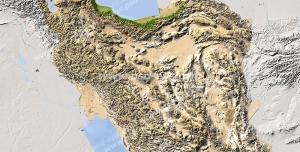عکس با کیفیت تبلیغاتی ایران در نقشه