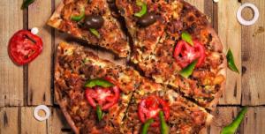 عکس با کیفیت پیتزا برای تبلیغات