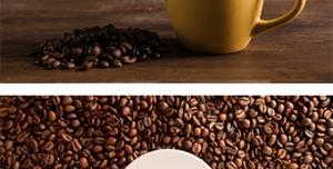 دو عکس با کیفیت با موضوع قهوه