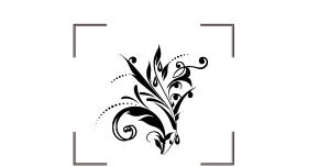 دانلود وکتور طرح گل و بوته اسلیمی با قابلیت زوم بی نهایت