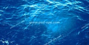 عکس با کیفیت تبلیغاتی دریای آرام آبی