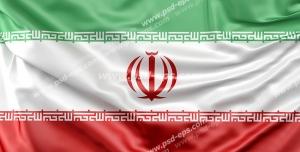 عکس با کیفیت تبلیغاتی پرچم زیبا ایران